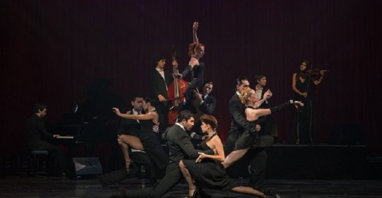 Review: Tango Fire - Flames of Desire (Peacock Theatre)Review: Tango Fire - Flames of Desire (Peacock Theatre)