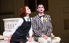 Mary Bevan and Anthony Gregory in The Mikado. Image by Tristram Kenton