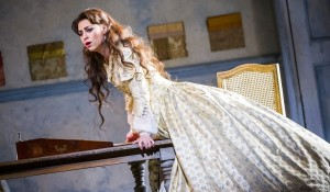 Venera-Gimadieva as Violetta in La Traviata at the Royal Opera House, by Tristram Kenton.