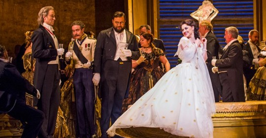 La Traviata at the Royal Opera House, by Tristram Kenton